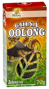 Polofermentovaný čaj China Oolong 70g